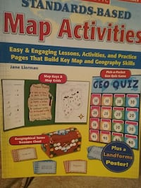 standards based map activities box