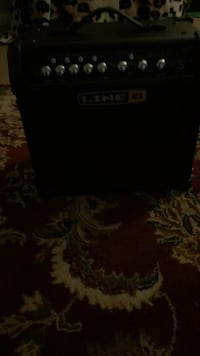 Black and gray portable line 6 speakers Bellevue, 98007