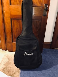 Slightly used Donner Acoustic Guitar