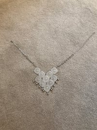 20 in (adjustable) silver necklace East Berlin, 17316