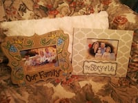 """BRAND NEW -DECORATIVE """"THE STORY OF US"""" & """"OUR FAMILY"""" PHOTO FRAMES Jacksonville"""