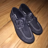 pair of black Sperry boat shoes Ottawa, K1C