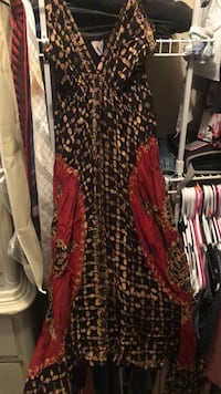 women's red and black dress Lake Mary, 32746