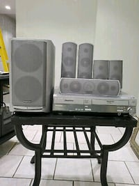 DVD and VHS surround sound system with remote Las Vegas, 89121