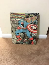 Marvel canvas wall art.   Alexandria, 22306