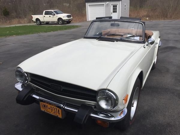 Used Triumph Tr6 1976 Woverdrive For Sale In Westtown Letgo