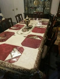 Dinning room table with 8 chairs Rockville, 20851