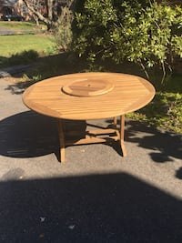 "60"" Hardwood Patio Table Olney, 20832"