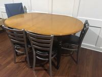 Maple wood table/ chairs offered separately Columbia
