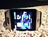 black and white smart watch Lubbock, 79404