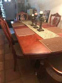 Wood dining table and chairs Manassas