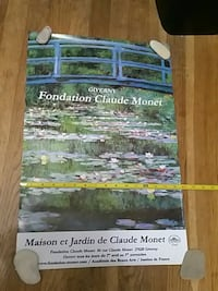 Monet Water Lily Poster from Giverny, France. Queens, 11103