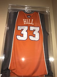 Grant Hill Game Worn Authentic Autographed Jersey 07-08