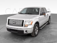 2012 Ford F150 SuperCrew Cab pickup XLT Pickup 4D 5 1/2 ft Silver Jeffersontown