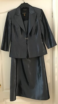 Evening dress with blazer