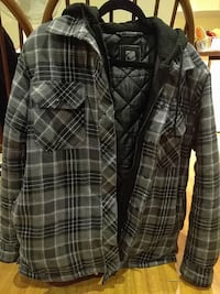 Winter jacket with hoodie (size -S/M)