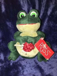 """Collectible Russ Frog """"Frolic"""""""