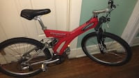 red and black full-suspension bike New Orleans, 70125