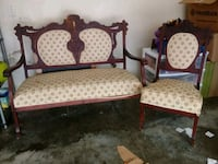 ANTIQUE LOVE SEAT AND CHAIR.. ON SALE TODAY ONLY  Trenton, 45067