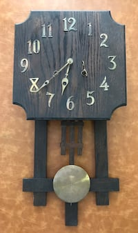 Antique vintage Mission style clock Tacoma, 98406