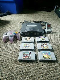 Nintendo 64 Console with Games Epsom, 03234