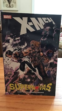 Marvel X-Men Supern Vas collection comic book Gainesville, 20155