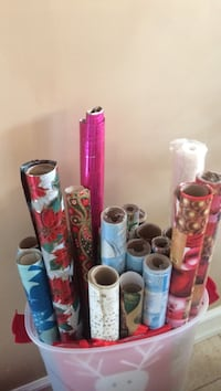 assorted pattern wrappers