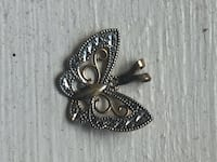 YG & Silver butterfly necklace charm Richmond, 23222