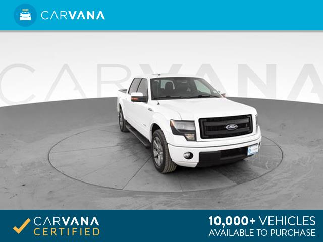 Photo 2013 Ford F150 SuperCrew Cab pickup FX2 Pickup 4D 5 1/2 ft White