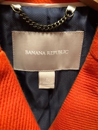 Banana Republic SMALL cotton lined double breast jacket: LIKE NEW!! Pleasant Hills