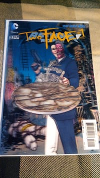 Batman & Robin # 23.1 - 3-D Two Face # 1 Toronto, M3M 2M6