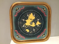 "Vintage Aviation metal meal tray B.O.A.C. ""World leader in Jet travel"" Sooke, V9Z 0C9"