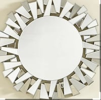 round white and black wall decor 3737 km