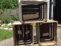 Wooden crates 10.00 each or all for 1 money Springfield, 45503