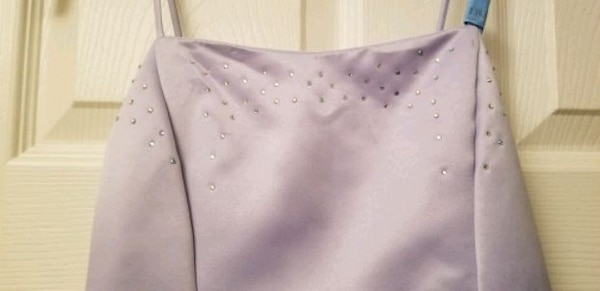 Gorgeous Lilac Rhinestone Dress Brand Marshmallow  2
