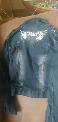 Abbey Dawn jean jacket size extra large