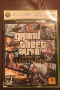 Grand theft auto, 2 in one game disk