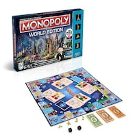 Monopoly World Edition Spielbrett mit Box
