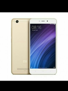 Gold Redmi 4A Android smartphone