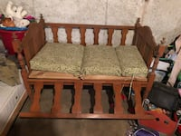 Old infant crib.  Not to be used for a crib the side drops down for seating  Atkinson, 03811