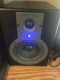 black and gray BX5a 2-way speaker