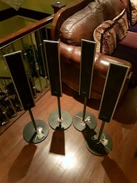 home theatre system speakers + box Surrey, V3R 6X2