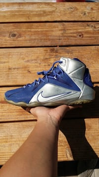 Nike LeBron 12 XII What If Dallas Cowboys Sneakers
