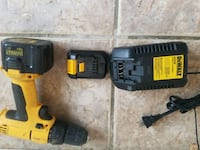 black and yellow Dewalt cordless power drill Bay Point, 94565