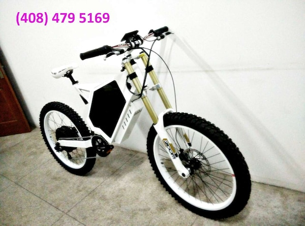 Fastest E Bike >> Stealth Bomber Electric Bike E Bike 3000w 72v 38ah