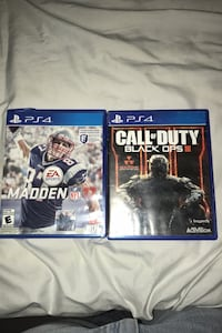 Madden 17 and black ops 3