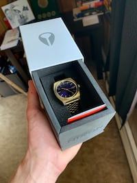 Gold Nixon watch with blue face *new* Anchorage, 99504