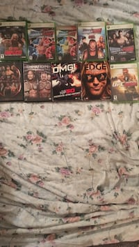 WWE Games/DVD's Chillicothe, 45601