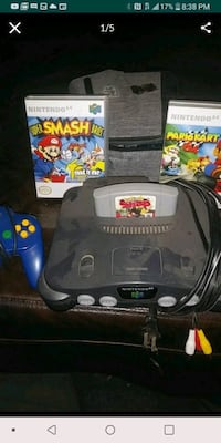 n64 system with games Whittier, 90602