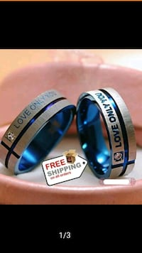 Nipsey Blue Rings size 7 & 11 Wilmington, 19805